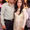 SS and Ketki Joshi during Mahaprasad organised by Adv Shyam Dewani at his office in Nagpur