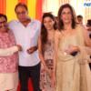 Adv Shyam Dewani, Anil, Ahilyaa and Kavita Taneja during Mahaprasad organised by Adv Shyam Dewani at his office in Nagpur