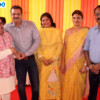 Adv Shyam Dewani, Pankaj Chokhani, Anju Chokhani, Vijaya and Yash Rao during Mahaprasad organised by Adv Shyam Dewani at his office in Nagpur