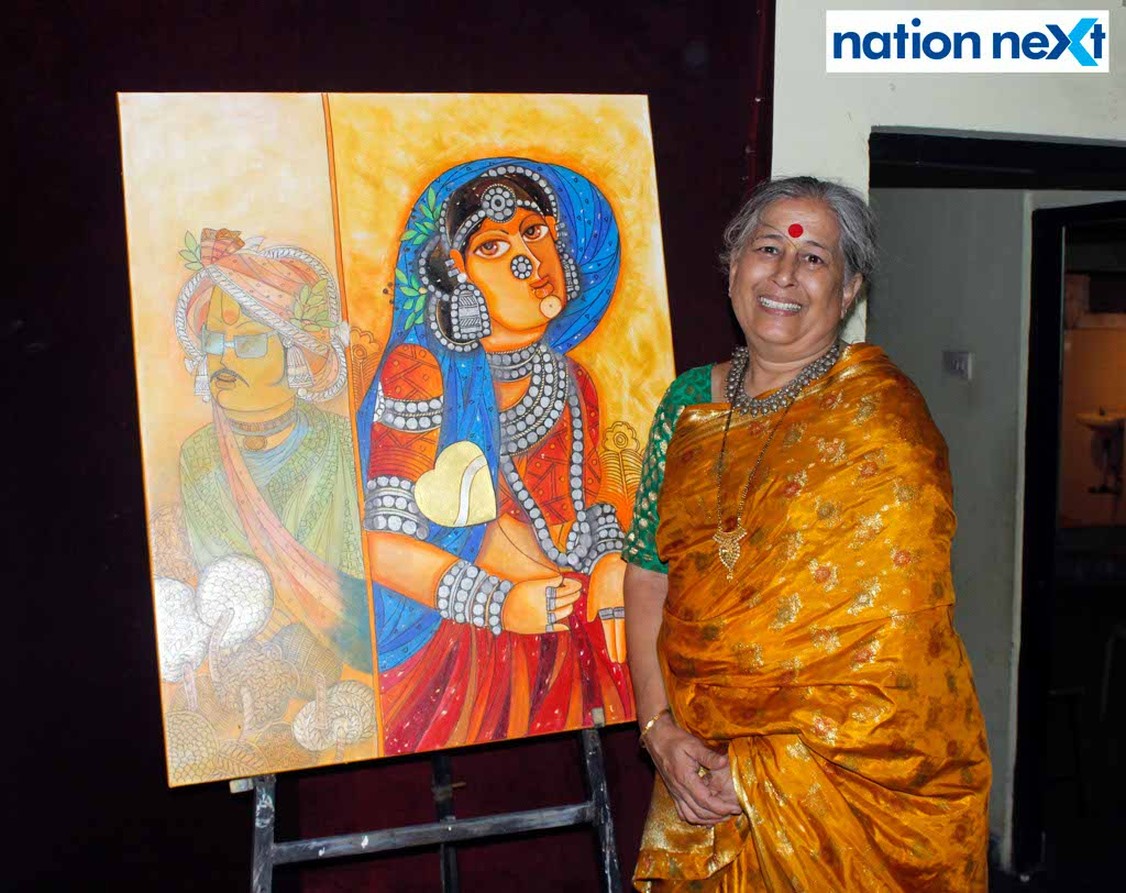 Lalitya Foundation and Genesys Foundation recently organised a three-day residential national art camp at Bhagini Mandal, Sitabuldi, Nagpur.