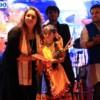 Mehak Gagan receiving the award for best dressed kid at Dhamaal Dandiya by Sankalp