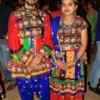 Rahul Gurao and Kiran Jadhav  at Dhamaal Dandiya by Sankalp