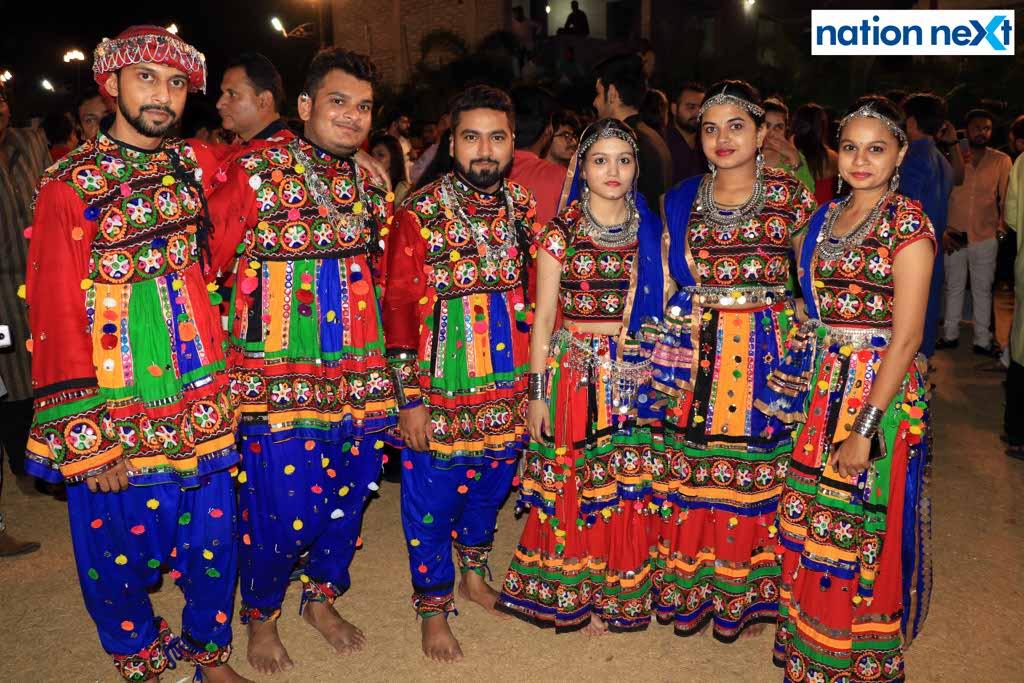 Garba enthusiasts were spotted having a rocking time at last day of Sankalp Dhamaal Dandiya organised at The Celebration Lawn, Kamptee Road, Nagpur.