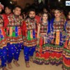 Youngsters dressed in traditional attires at Dhamaal Dandiya by Sankalp