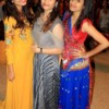 Shraddha Bhivgade, Aishwarya Ingle and Monica Kadu at Dhamaal Dandiya by Sankalp