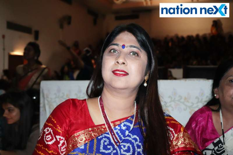 Nandita Sapra at LAD College's cultural fest 'Aura' held in Nagpur