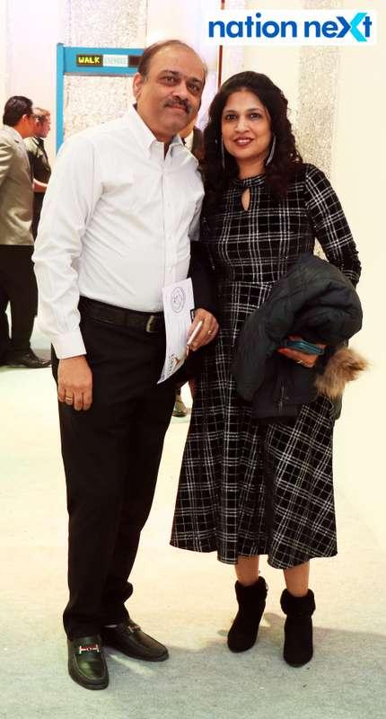 Abhay and Manjusha Joshi during the 2019 New Year bash held at Gondwana Club in Nagpur
