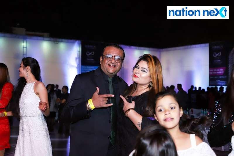 Amit and Tejal Khara during the 2019 New Year bash held at Gondwana Club in Nagpur