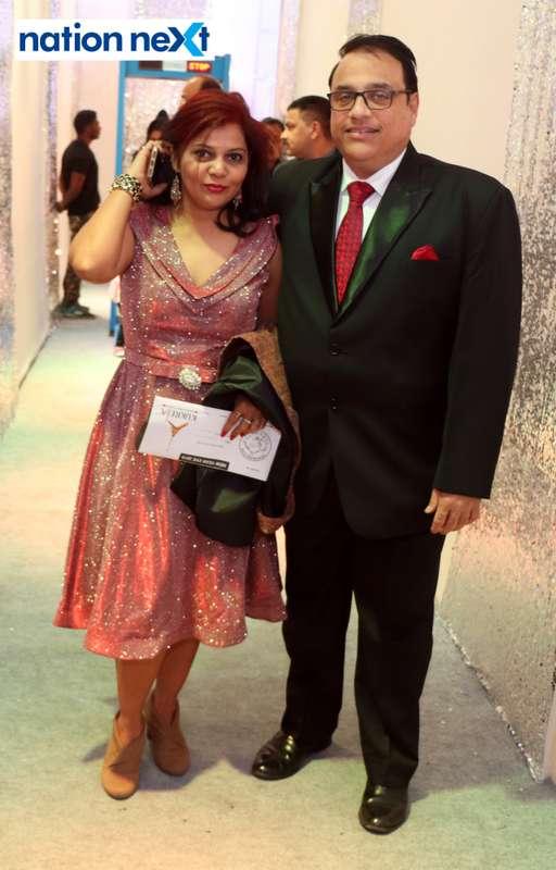 Balaji and Geetanjali Buty during the 2019 New Year bash held at Gondwana Club in Nagpur