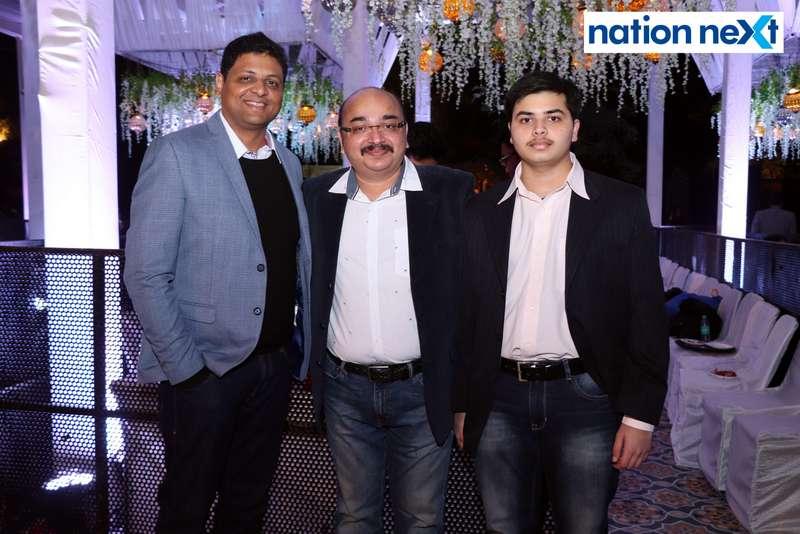 Gitesh Muttemwar and Pratap Singh Bhonsle during the 2019 New Year bash held at Gondwana Club in Nagpur
