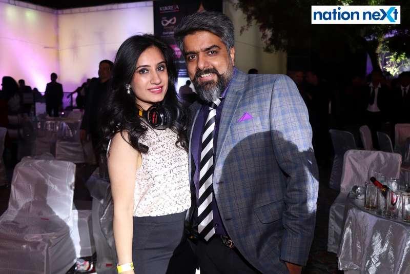 Kamya and Sachin Mulani during the 2019 New Year bash held at Gondwana Club in Nagpur