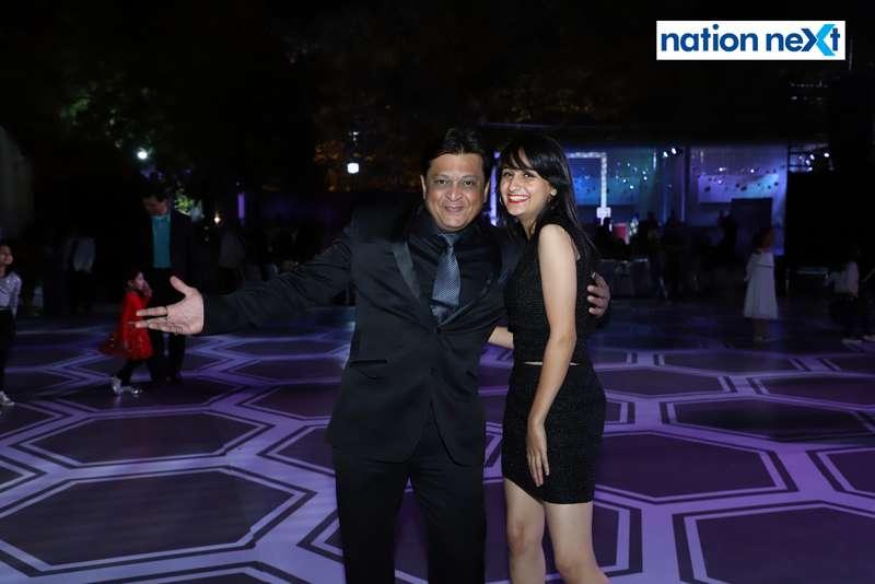Mandar and Anushka Chitaley during the 2019 New Year bash held at Gondwana Club in Nagpur