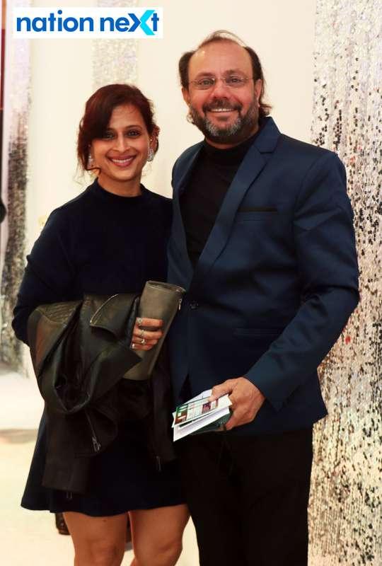 Meghna and Aniruddha Joshi during the 2019 New Year bash held at Gondwana Club in Nagpur