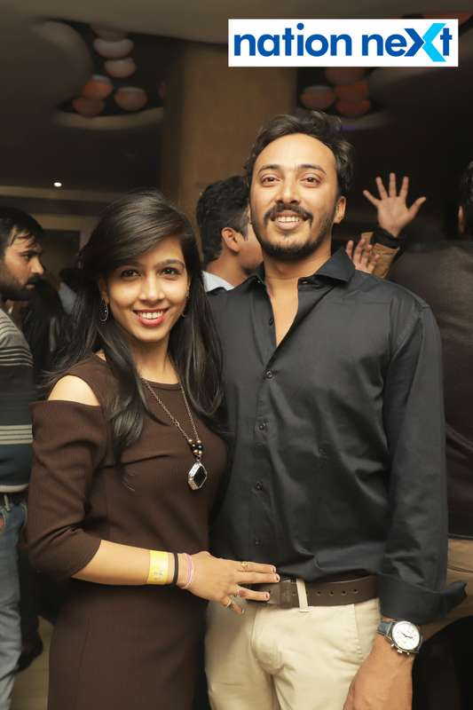 Guests during the 2019 New Year bash held at Czaar Lounge and Restaurant in Nagpur