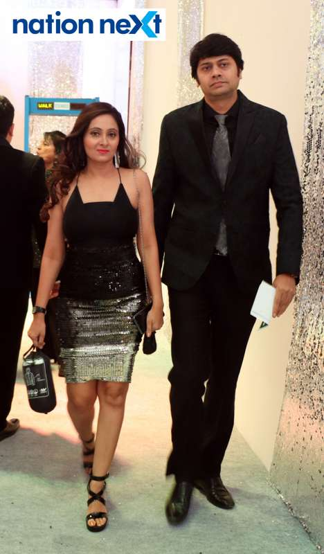 Purvi and Rohan Thakkar during the 2019 New Year bash held at Gondwana Club in Nagpur