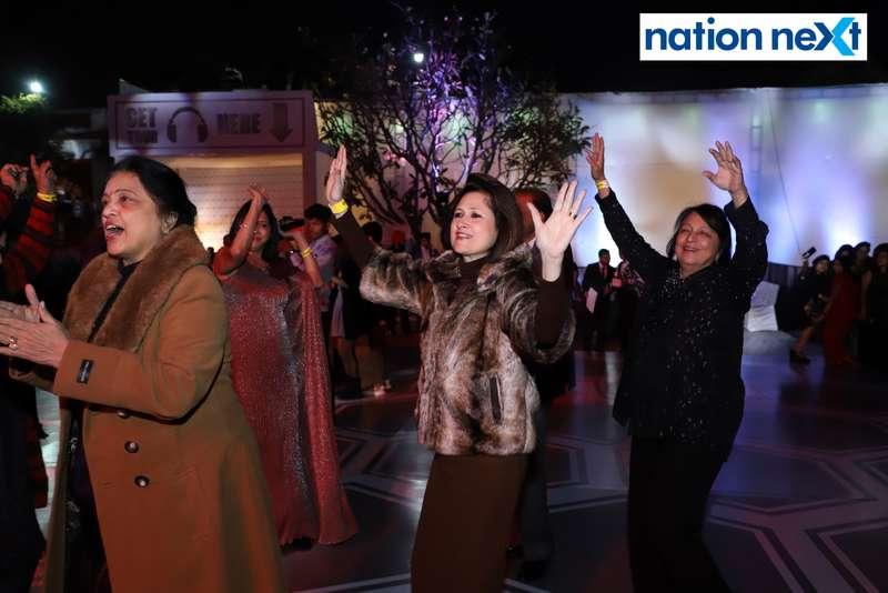Rohini Rai during the 2019 New Year bash held at Gondwana Club in Nagpur
