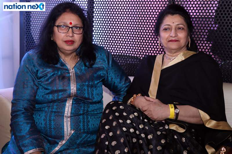 Roopa Rai with her friend during the 2019 New Year bash held at Gondwana Club in Nagpur