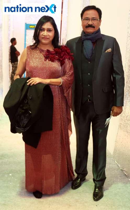 Surekha and Anil Ahirkar during the 2019 New Year bash held at Gondwana Club in Nagpur