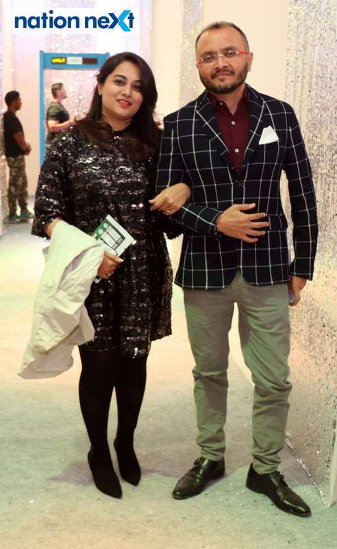 Tejal and Mehul Patel during the 2019 New Year bash held at Gondwana Club in Nagpur