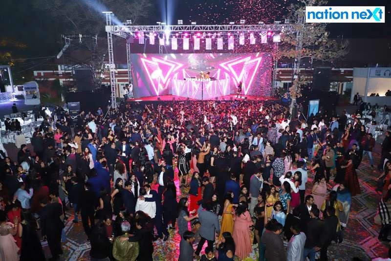 The glittering 2019 New Year bash held at Gondwana Club in Nagpur