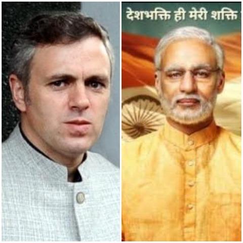 Former CM of J&K Omar Abdullah took a jibe at the casting of Vivek Oberoi as PM Narendra Modi in the latter's upcoming biopic 'Narendra Modi.'