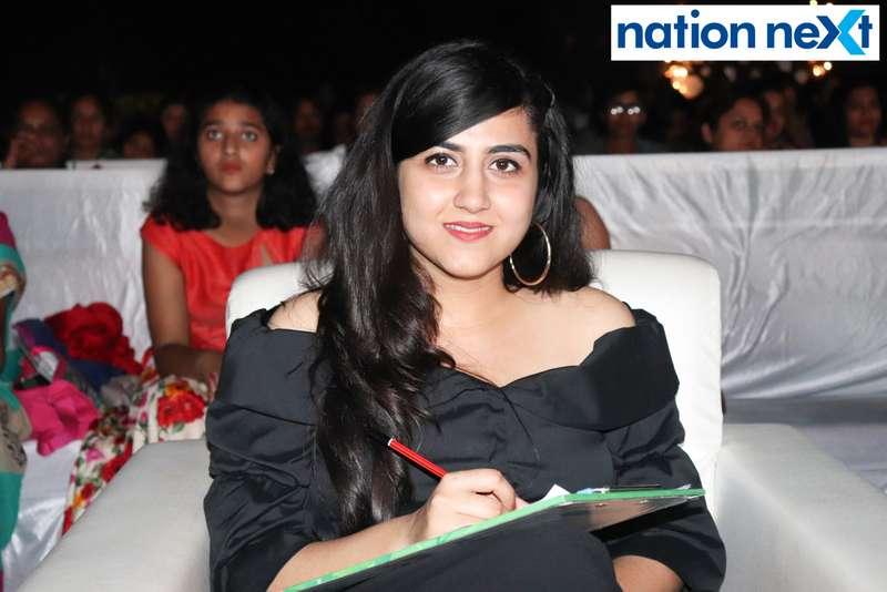 Nina Somalwar at the IFT Fashion Carnival held in Nagpur