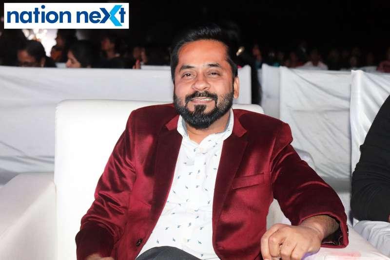 Nityanand Tiwari at the IFT Fashion Carnival held in Nagpur