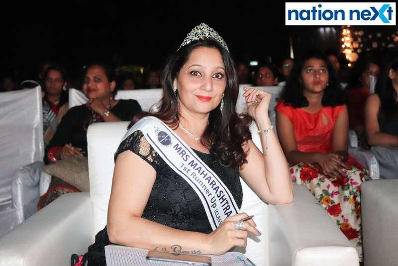 Swati Banerji at the IFT Fashion Carnival held in Nagpur