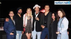 Nagpur businessman Prince Tuli, on Feb 9, hosted a lavish party for celebrity American designers Robert and Cortney Novogratz at Hotel Tuli Imperial.