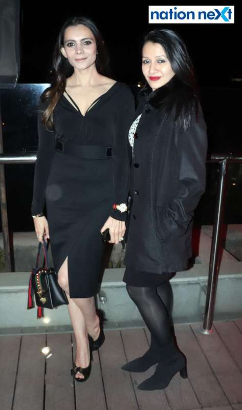 Tanya Kapoor and Payal Sheth at a party hosted by Prince Tuli at Hotel Tuli Imperial in Nagpur