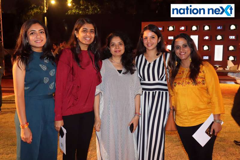 Aakriti Patel, Nirtika Patel, Sonal Patel, Simran Chelwani and Anu Deshpande at Blenders Pride Magical Nights held at CP Club in Nagpur