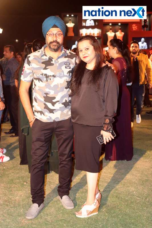 Baljeet Singh and Gurpreet Kaur at Blenders Pride Magical Nights held at CP Club in Nagpur