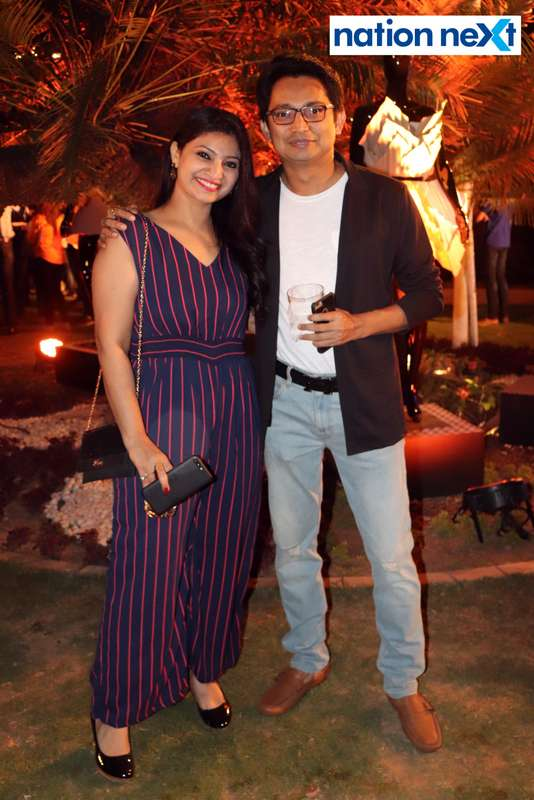 Bhavita and Jigar Shrimankar at Blenders Pride Magical Nights held at CP Club in Nagpur
