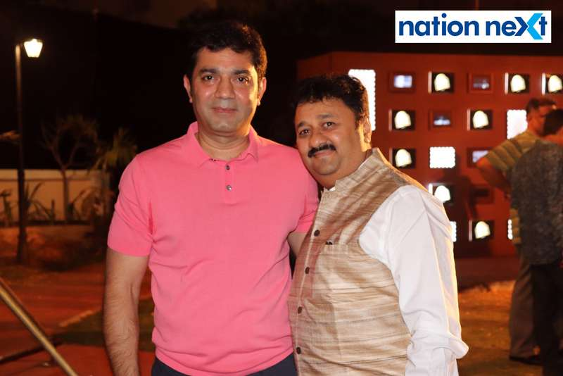 Girish Dewani and Prasanna Mohile (Head, Corporate Affairs, Pernod Ricard India) at Blenders Pride Magical Nights held at CP Club in Nagpur