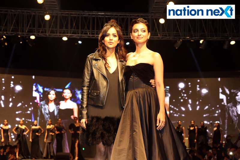 Radhika Apte and Nainika at Blenders Pride Magical Nights held at CP Club in Nagpur