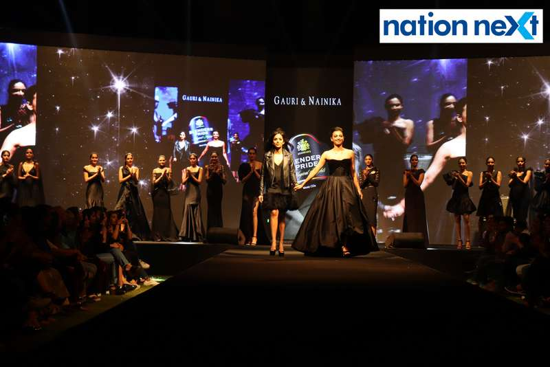 Radhika Apte walks the ramp with designer Nainika at Blenders Pride Magical Nights held at CP Club in Nagpur