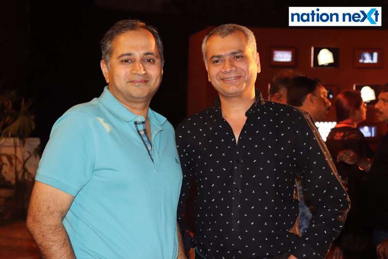 Naresh Jaisinghani and Amit Panchmatia at Blenders Pride Magical Nights held at CP Club in Nagpur