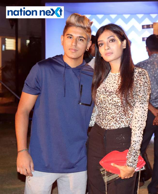 Naveez Lalani and Sakshi Gupta at Blenders Pride Magical Nights held at CP Club in Nagpur
