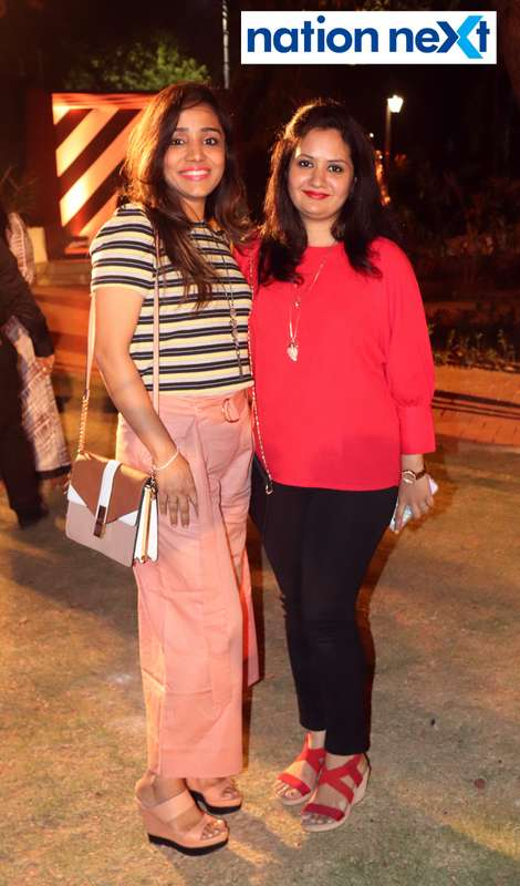 Neha Agrawal and Deepika Vijaywargi at Blenders Pride Magical Nights held at CP Club in Nagpur