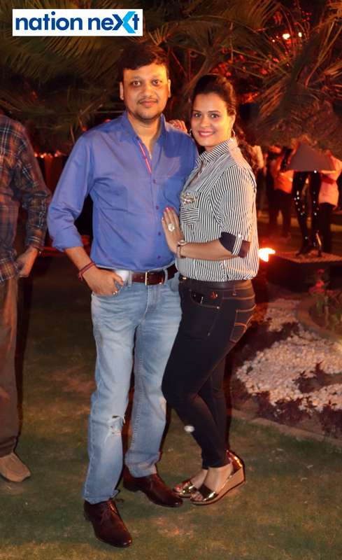 Nikhil and Jyoti Agrawal at Blenders Pride Magical Nights held at CP Club in Nagpur