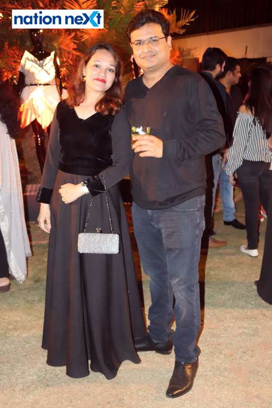 Payal and Mithilesh Goenka at Blenders Pride Magical Nights held at CP Club in Nagpur
