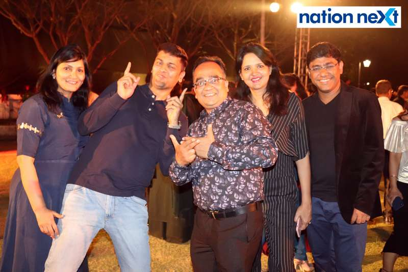 Pooja Mohta, Anand Mohta, Kamal Taori, Pooja Jain and Tarun Jain at Blenders Pride Magical Nights held at CP Club in Nagpur