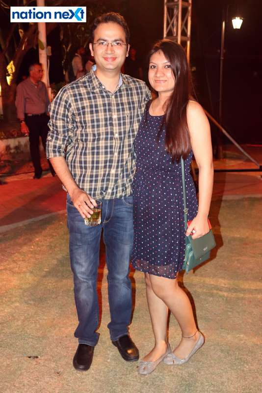 Prakash and Kanika Rawlani at Blenders Pride Magical Nights held at CP Club in Nagpur