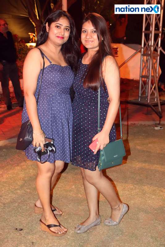 Radhika Dhawad and Kanika Rawlani at Blenders Pride Magical Nights held at CP Club in Nagpur