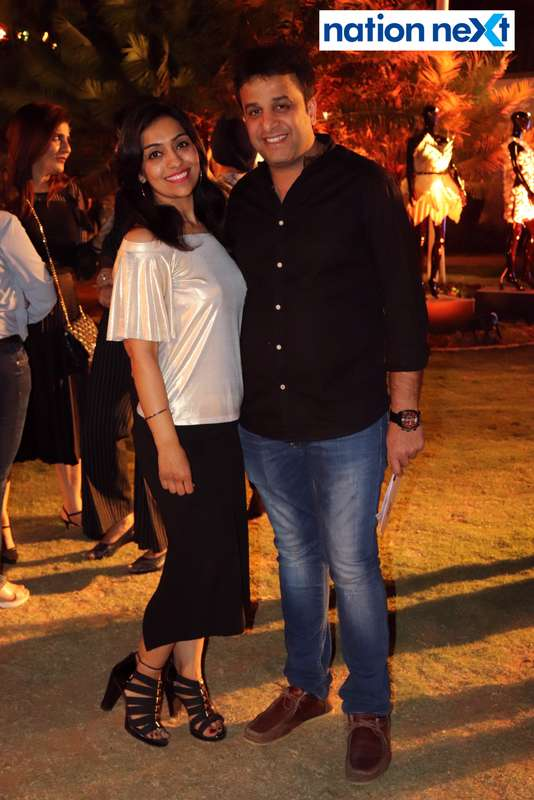 Ruchika and Manoj Jeswani at Blenders Pride Magical Nights held at CP Club in Nagpur