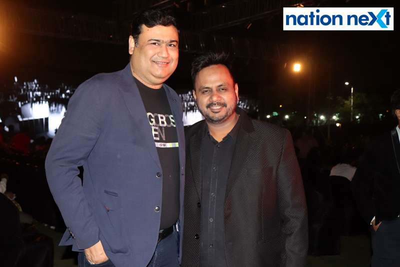 Sandeep Goenka and Kshitiz Agrawal at Blenders Pride Magical Nights held at CP Club in Nagpur