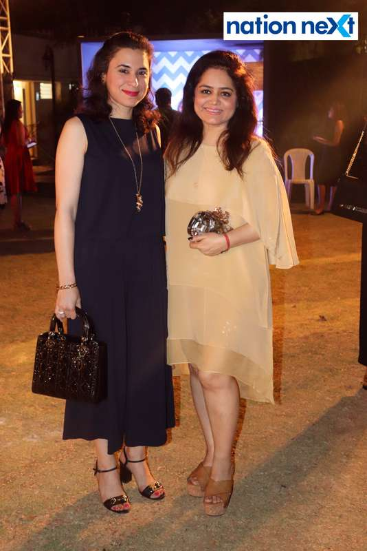 Seema Jaisinghani and Archana Saraf at Blenders Pride Magical Nights held at CP Club in Nagpur