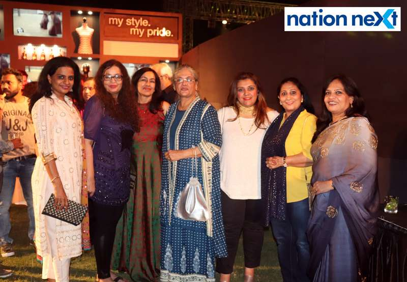 Shalini Naidu, Farah Husain, Jyotsna, Timmy Bawa, Nilofar Rana, Sonia Khurana and Smita Bhargav at Blenders Pride Magical Nights held at CP Club in Nagpur