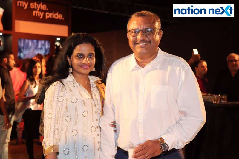 Shalini and Vikram Naidu at Blenders Pride Magical Nights held at CP Club in Nagpur