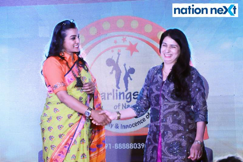 Ekta Bhaiya and Anita Methai at Darlings of Nagpur contest held at Hotel Tuli Imperial